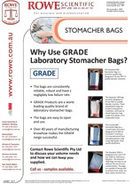 Stomacher Bags flyer cover