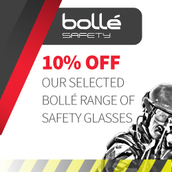 10 Percent off Bolle safety glasses