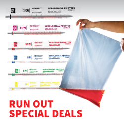 Specials on Serological Pipettes and Stomacher bags