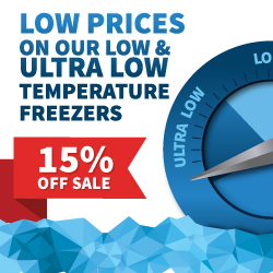 15 Percent Off Nordic Lab Freezers