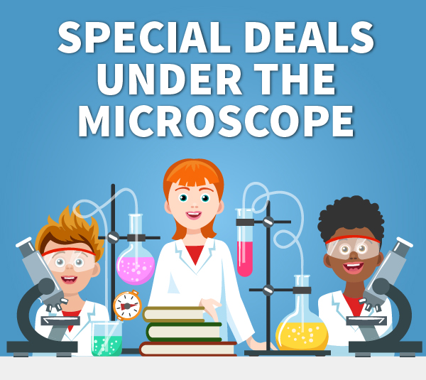 Special Deals Under the Microscope Rowe Scientific