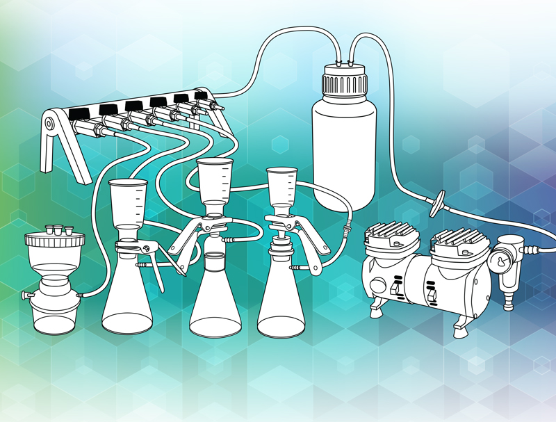 Is filtration an important part of a laboratory workflow?